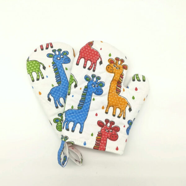 Oven Mitts Giraffe